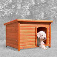 Trixie Natura lapostetős kutyaház barna 104x72x68cm