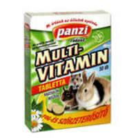 Panzi Multivitamin Tabletta rágcsálóknak 50db