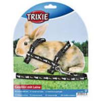 Trixie Nyúlhám nyuszi-répa mintákkal Fekete