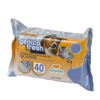 Ferplast Genico Fresh Talc hintőporos törlőkendő 40db