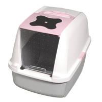 Hagen Catit Hooded macskawc Pink 57x46x39cm