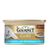 Gourmet Gold Tengerihal spenót szószban 85g
