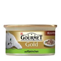 Gourmet Gold Nyúl darabok pástétomban 85g