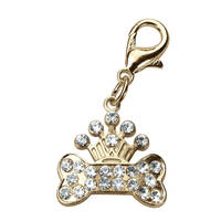 Ferplast Charme Gold Crown kutyaékszer 3x3cm