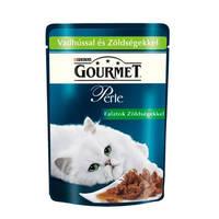 Gourmet Perle Gravy Delight Vadhússal és zöldségekkel 85g
