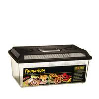 ExoTerra Faunarium lapos műanyag box M 36x21x16cm