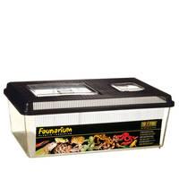 ExoTerra Faunarium lapos műanyag box L 46x30x17cm