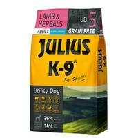 Julius K9 GF Utility Dog Hypoallergen Adult Bárány gyógynövény 10kg