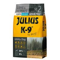 Julius K9 GF Utility Dog Hypoallergen Senior Bárány gyógynövény 10kg