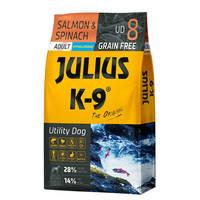 Julius K9 GF Utility Dog Hypoallergen Adult Lazac spenót 10kg