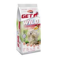 GetWild Hypoallergenic Adult Lamb & Rice Apple 15kg