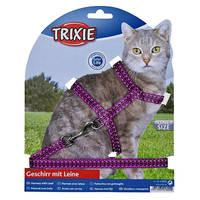 Trixie Reflective Lila Fényvisszaverő macskahám