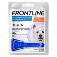 Frontline Spot On Kutya S 2-10kg 1db
