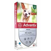 Advantix Spot On 4kg alatt 4x0,4ml