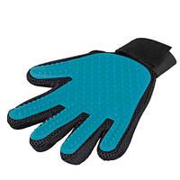 Trixie 5 ujjas Gumírozott szőrápoló masszazs kesztyű