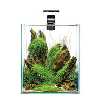 AquaEl Shrimp Set Day & Night LED 30 Fekete 30x30x35cm