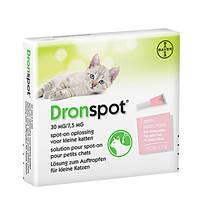 DronSpot Féreghajtó Spot-On kistestű macskáknak 0,5kg-2,5kg 2x0,35ml