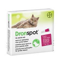 DronSpot Féreghajtó Spot-On nagytestű macskáknak 5kg-8kg 2x1,12ml