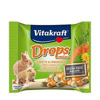 Vitakraft Drops Mini sárgarépás jutalomfalatok törpenyulaknak 40g