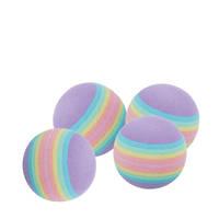 Trixie Szivárvány habszivacs labdák 4db