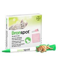 DronSpot Féreghajtó Spot-On kistestű macskáknak 0,5kg-2,5kg 2x0,35ml Ajándék Tollal