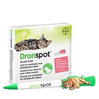 DronSpot Féreghajtó Spot-On közepestestű macskáknak 2,5kg-5kg  2x0,7ml Ajándék Tollal