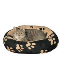 Trixie Sammy Bézs-Fekete macskafekhely 50cm